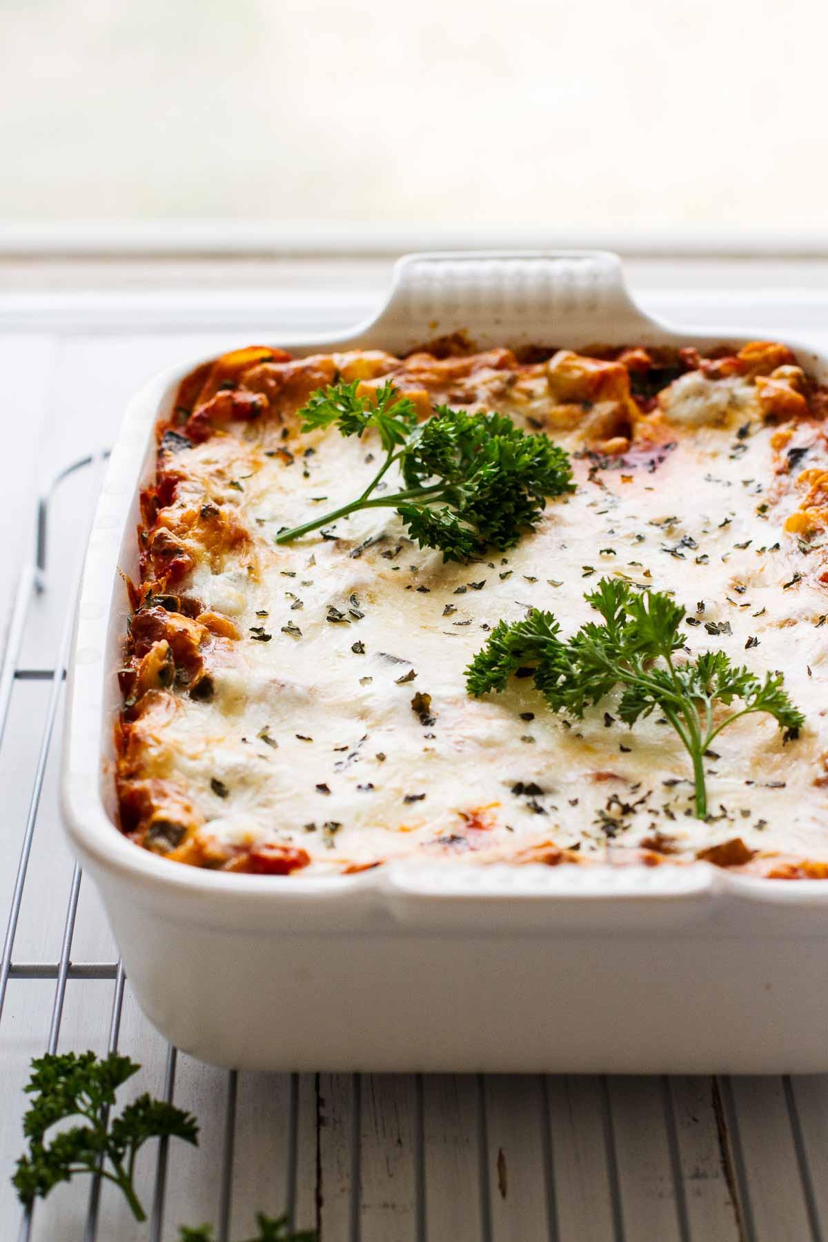 Easy Healthy Lasagna Recipe  The BEST Easy Healthy Lasagna Recipe Jar Lemons