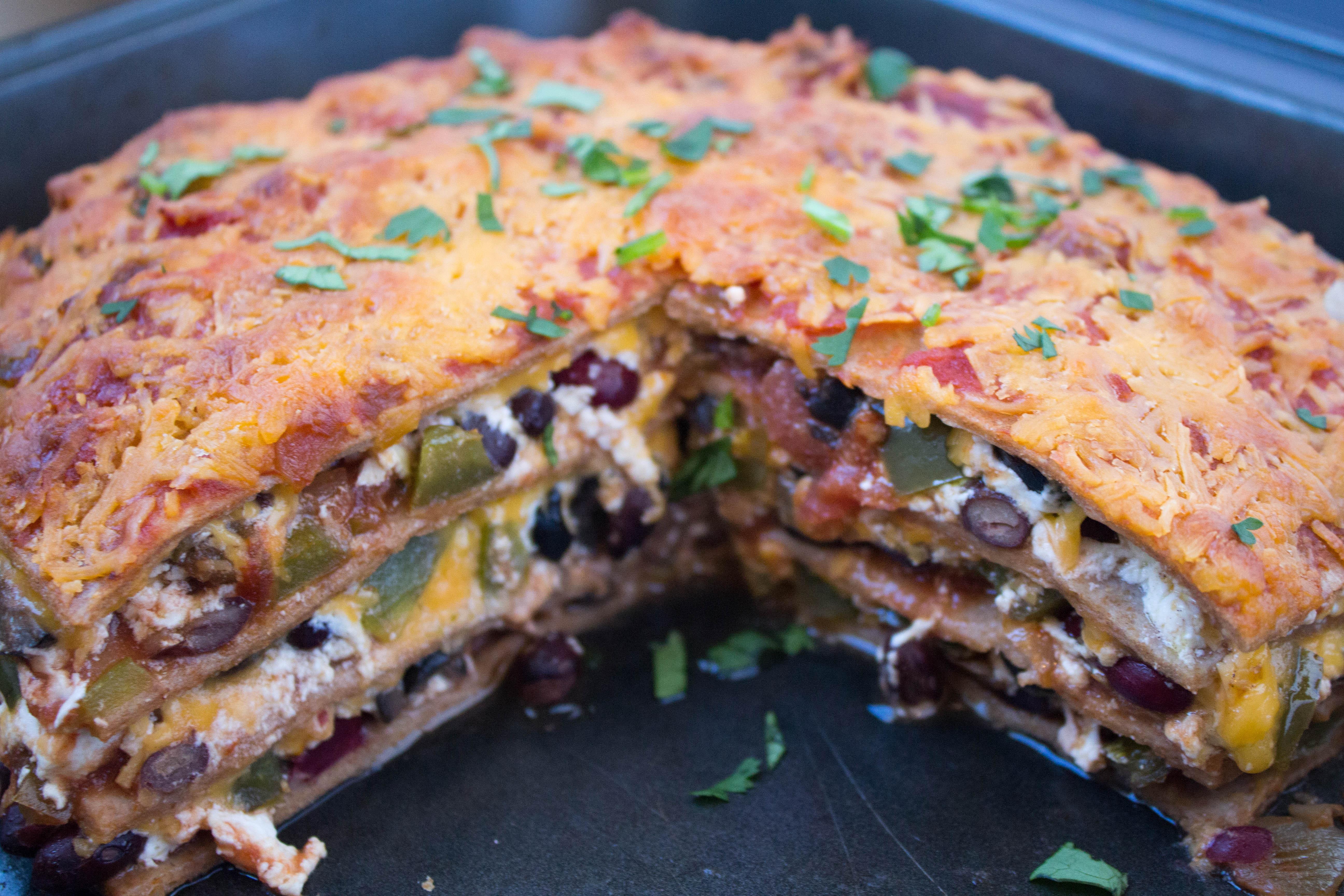 Easy Healthy Lasagna Recipe  Mexican Lasagna Recipe