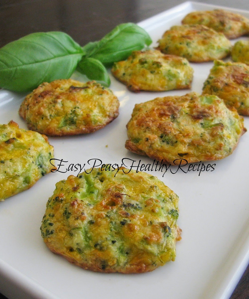 Easy Healthy Low Carb Recipes  Easy Peasy Healthy Recipes Low Carb Cheesy Broccoli Bites