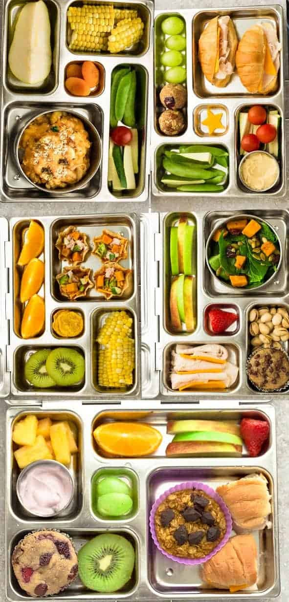 Easy Healthy Lunches  5 Easy Bento Box Lunches for Fall