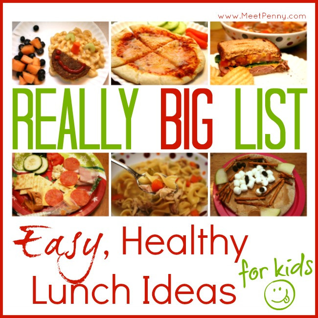 Easy Healthy Lunches For Kids  Easy Healthy Lunch Ideas for Kids and Mom too Meet Penny