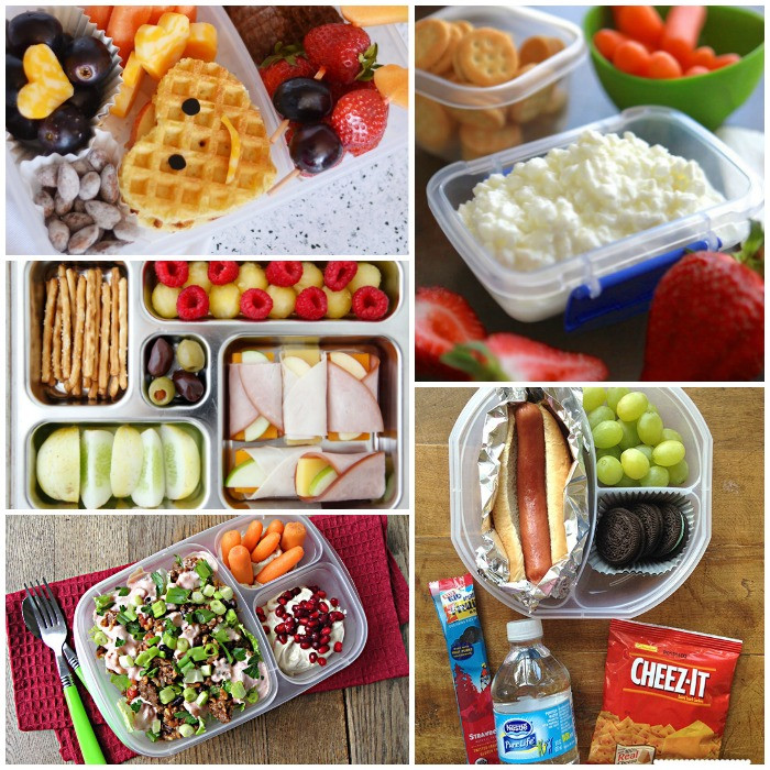 Easy Healthy Lunches For Kids  100 School Lunches Ideas the Kids Will Actually Eat