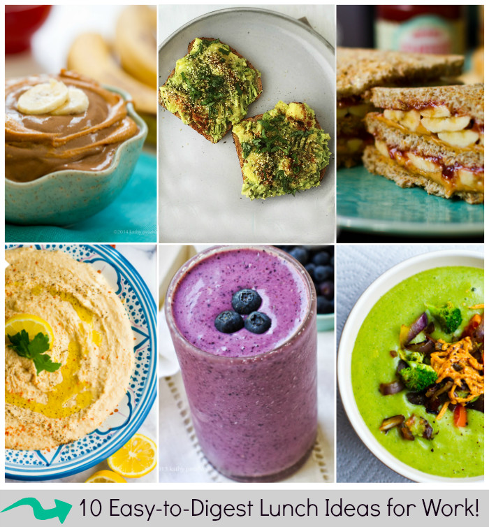 Easy Healthy Lunches To Bring To Work  10 Easy to Digest Lunches to Bring to Work Healthy Happy