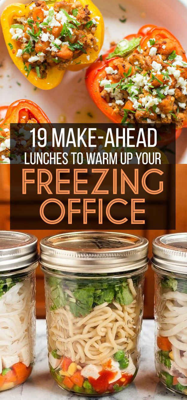 Easy Healthy Lunches To Bring To Work  25 best ideas about Make Ahead Lunches on Pinterest