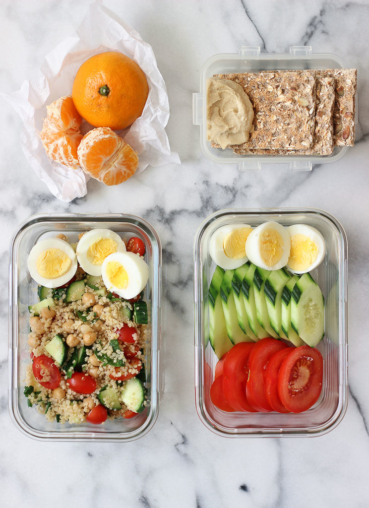 Easy Healthy Lunches To Bring To Work  Simple Hard Boiled Eggs Lunch Ideas Exploring Healthy Foods
