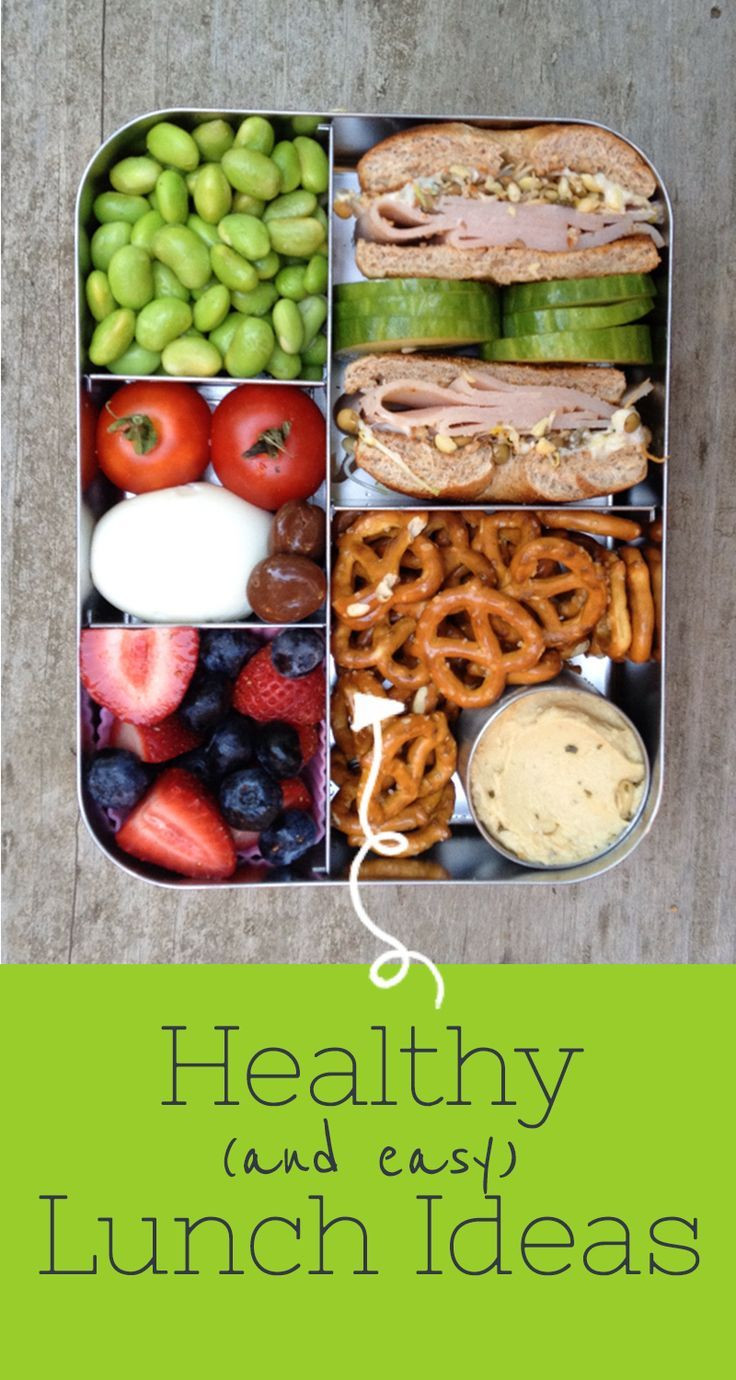 Easy Healthy Lunches To Go  Best 25 Easy healthy lunch ideas ideas on Pinterest