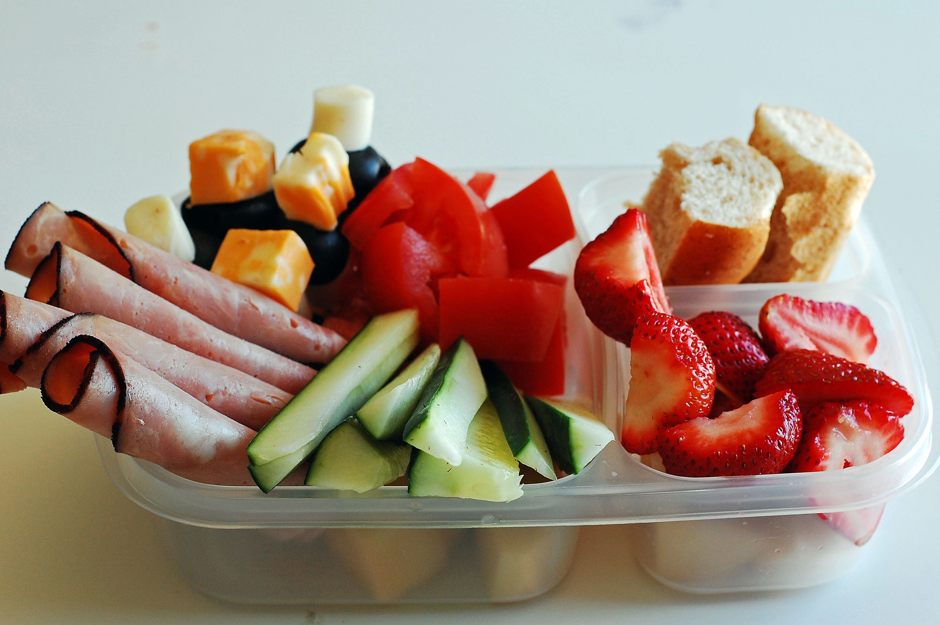 Easy Healthy Lunches To Go  Anti Pasto Lunch Box and Giveaway