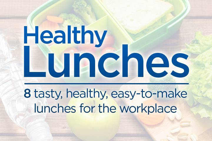 Easy Healthy Lunches To Make  8 tasty healthy easy to make lunches for the workplace