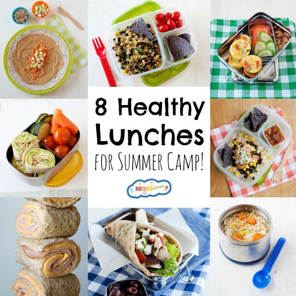 Easy Healthy Lunches To Pack  8 Healthy Lunches for Summer Camp MOMables Good Food