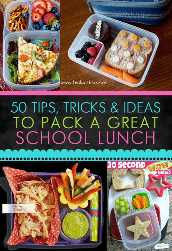 Easy Healthy Lunches To Pack  Lunch Box Ideas for Back to School The Educators Spin It