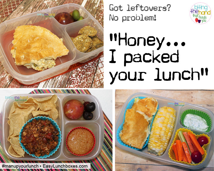 Easy Healthy Lunches To Pack  Man Up Your Lunch Packed Lunch Box Ideas for