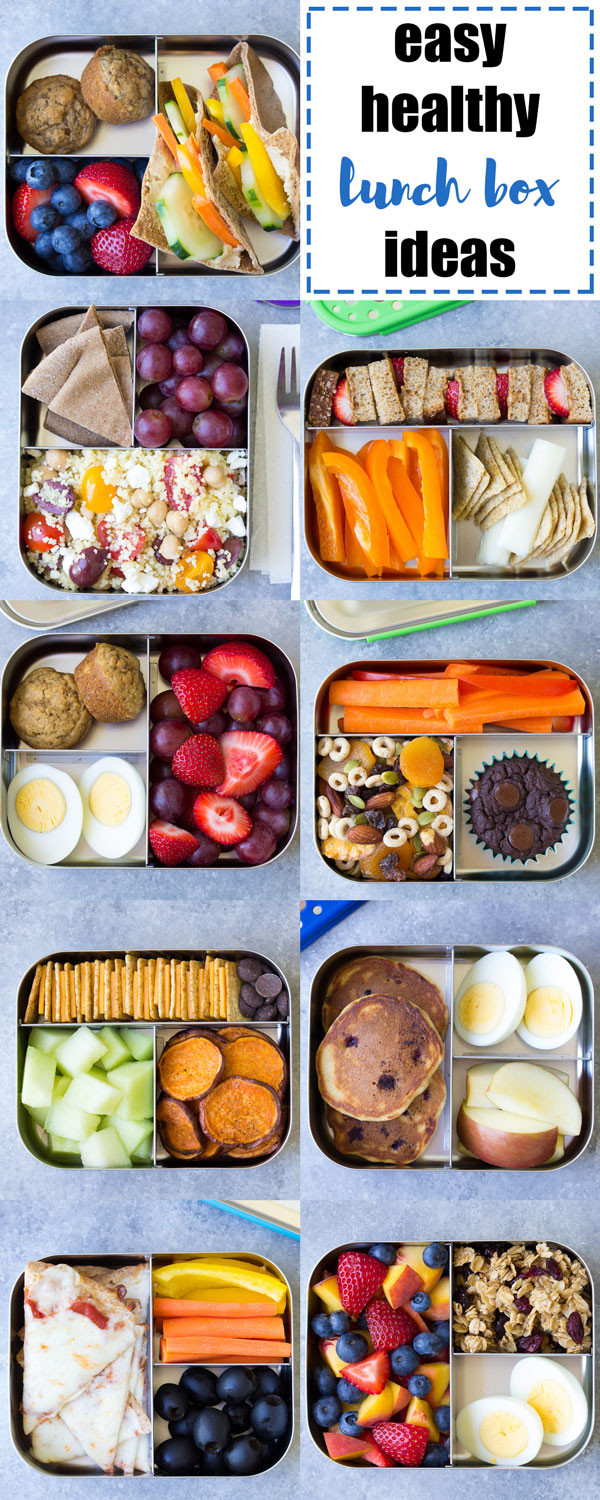 Easy Healthy Lunches To Pack  10 More Healthy Lunch Ideas for Kids for the School Lunch