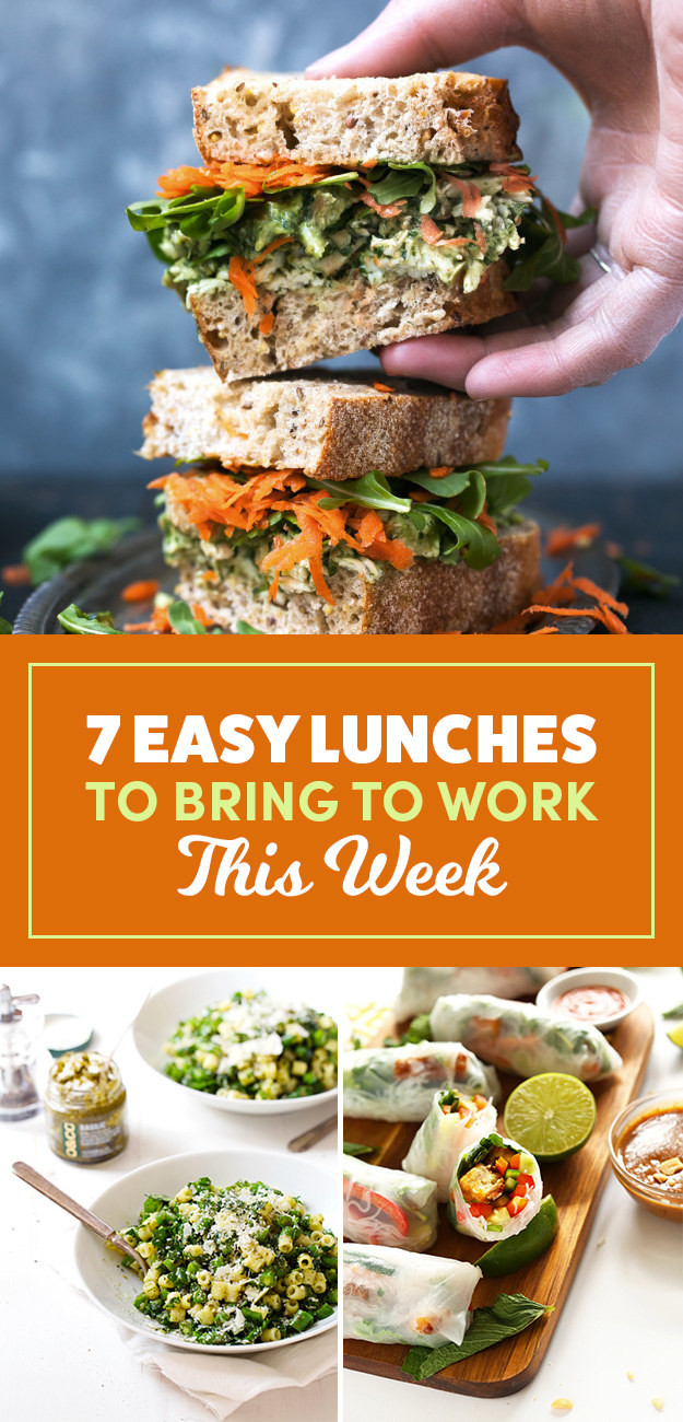 Easy Healthy Lunches To Take To Work  7 Easy Lunches To Bring To Work This Week