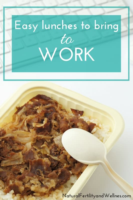 Easy Healthy Lunches To Take To Work  Easy lunches to bring to work stay nourished all day