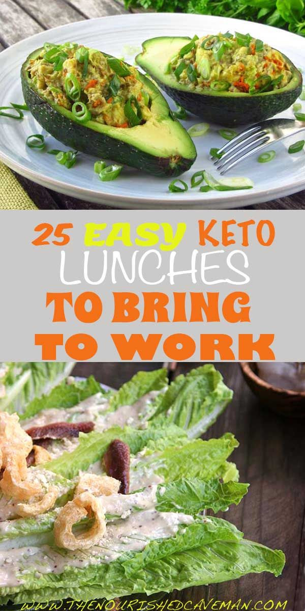Easy Healthy Lunches To Take To Work  25 Easy Keto Lunches To Bring To Work
