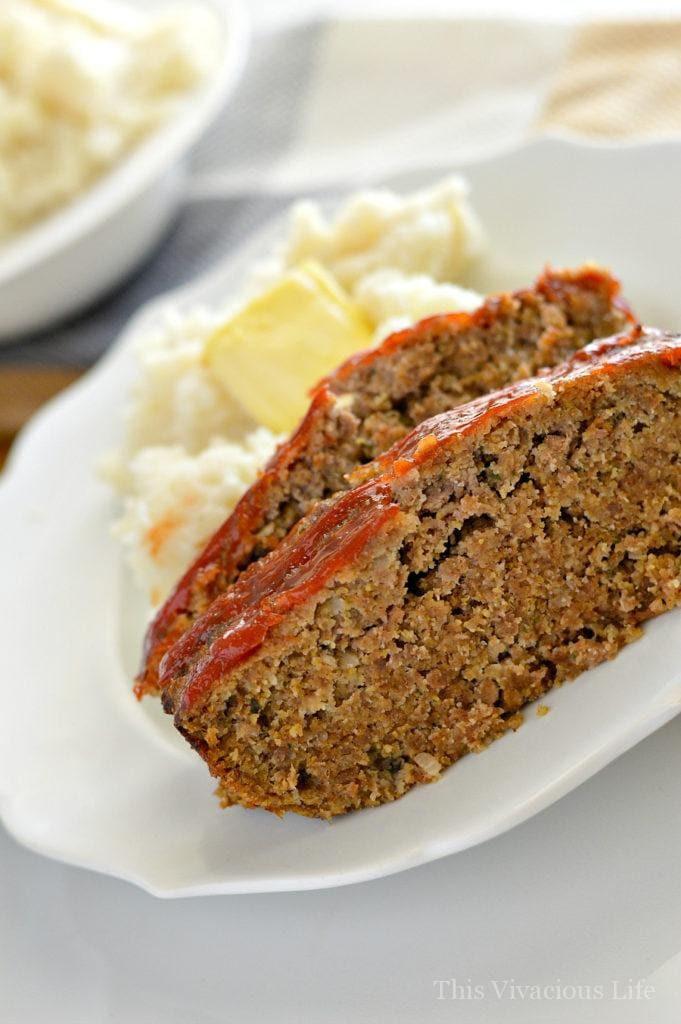 Easy Healthy Meatloaf Recipe  easy gluten free meatloaf recipe