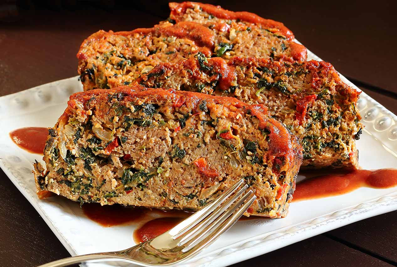 Easy Healthy Meatloaf Recipes  Easy Paleo Meatloaf Recipe with Veggies