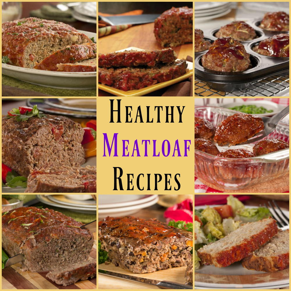 Easy Healthy Meatloaf Recipes  8 Easy Healthy Meatloaf Recipes