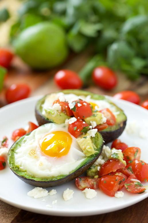 Easy Healthy Mexican Recipes  Mexican Baked Eggs in Avocado Cup – Simple Quick Healthy