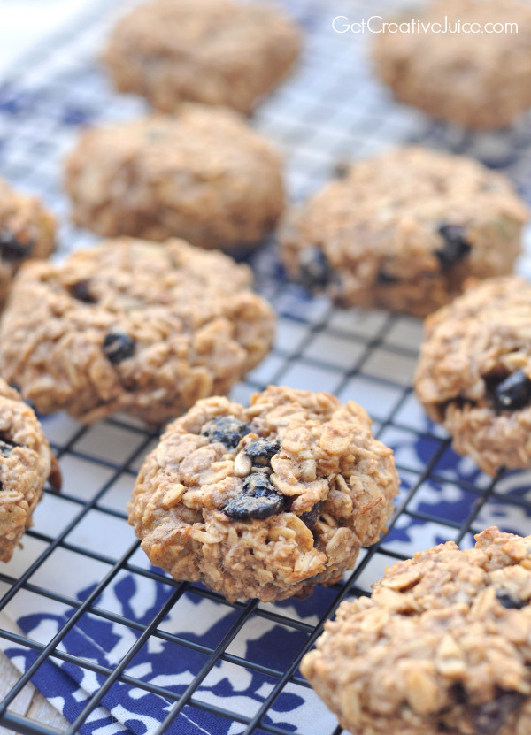 Easy Healthy Oatmeal Cookies  Easy 3 Ingre nt Healthy Oatmeal Cookies Creative Juice
