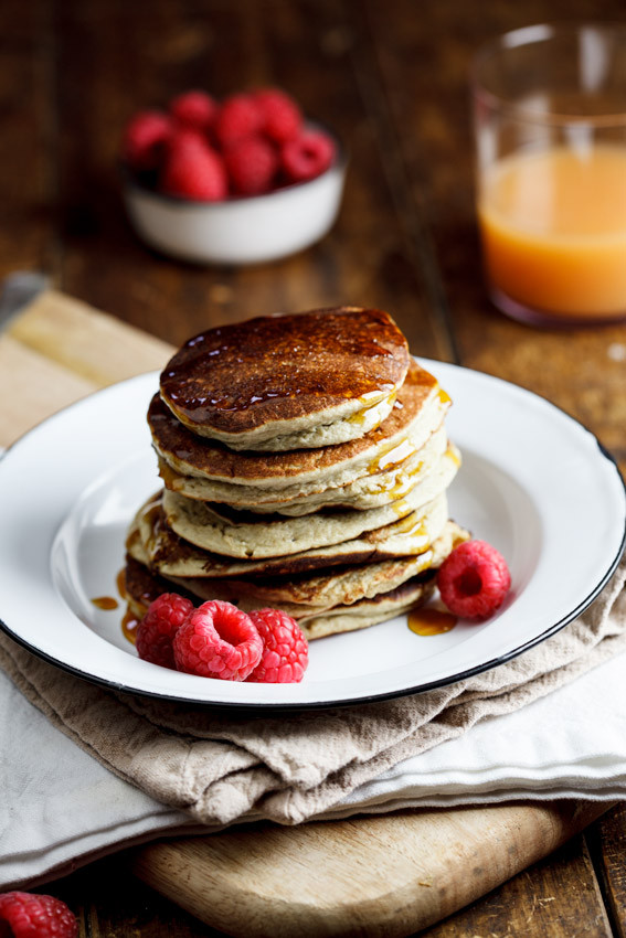 Easy Healthy Pancakes  Easy and healthy Banana Oat pancakes Simply Delicious