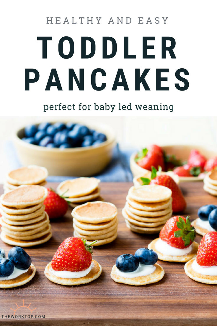 Easy Healthy Pancakes  Toddler Pancakes healthy and easy baby led weaning
