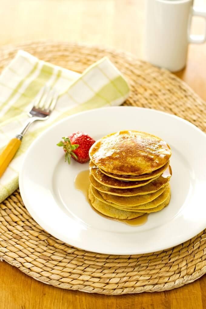 Easy Healthy Pancakes  Easy Banana Pancakes