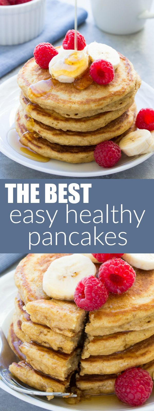 Easy Healthy Pancakes  Tried and True Best Easy Healthy Pancake Recipe This
