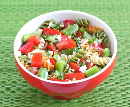 Easy Healthy Pasta Salad  20 Summer Salad Recipes Healthy Salad Recipes