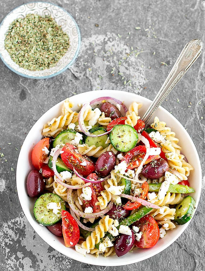 Easy Healthy Pasta Salad  Easy Greek Pasta Salad As Easy As Apple Pie