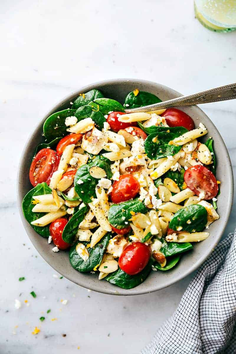 Easy Healthy Pasta Salad  Healthy Chicken Pasta Salad