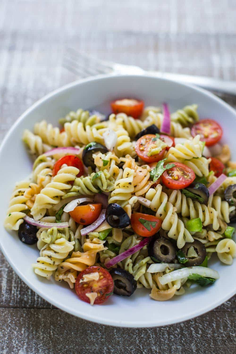 Easy Healthy Pasta Salad  Quick & Easy Pasta Salad