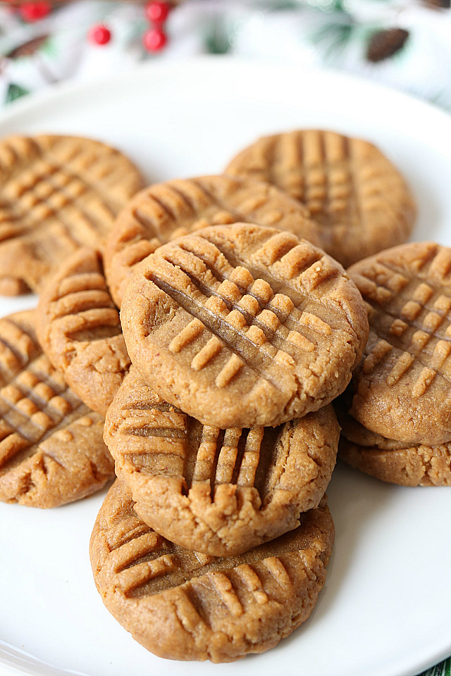 Easy Healthy Peanut Butter Cookies  Healthy Peanut Butter Cookies Vegan Gluten Free