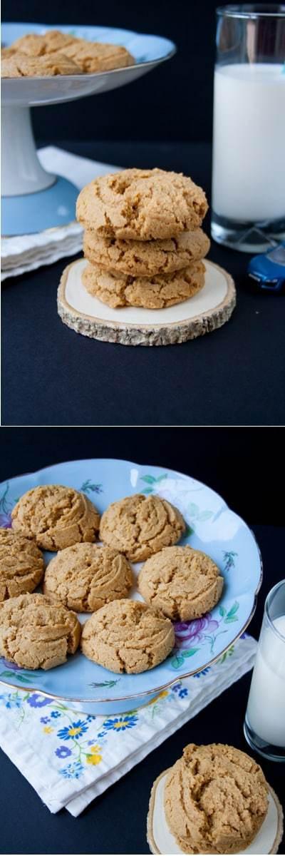 Easy Healthy Peanut Butter Cookies  Healthy Natural Peanut Butter Cookies Little Sweet Baker