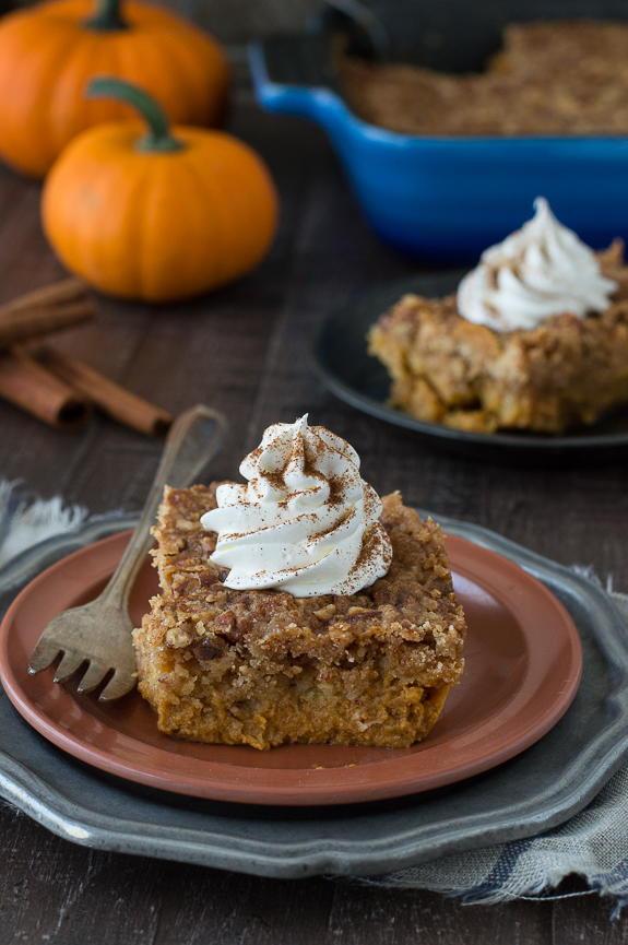 Easy Healthy Pumpkin Desserts  Incredibly Easy Pumpkin Dump Cake