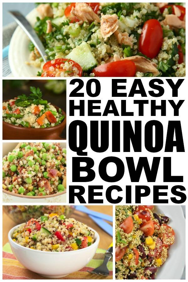 Easy Healthy Quinoa Recipes  20 easy and healthy quinoa recipes