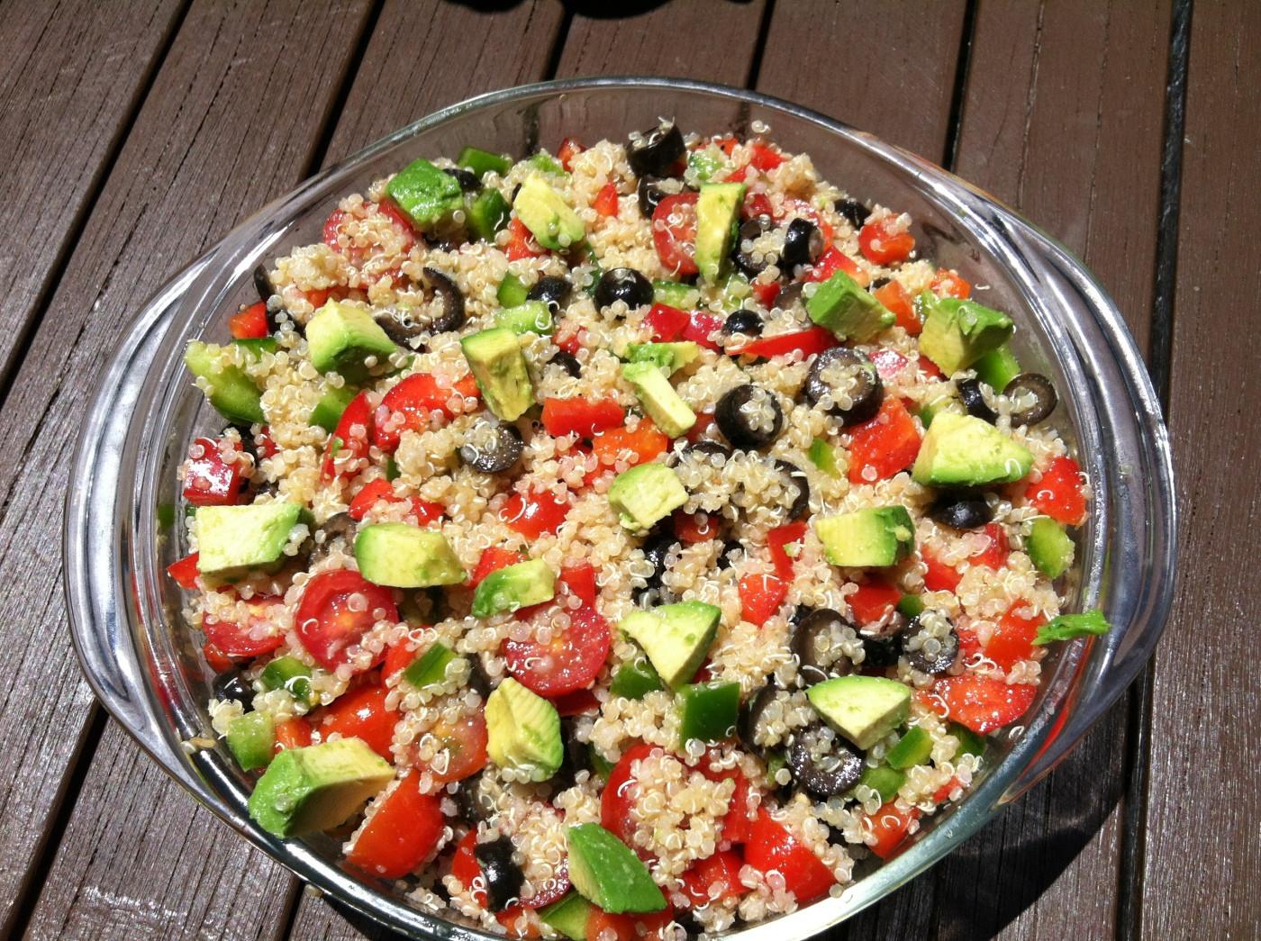 Easy Healthy Quinoa Recipes  QUINOA An easy healthy recipe for everyone