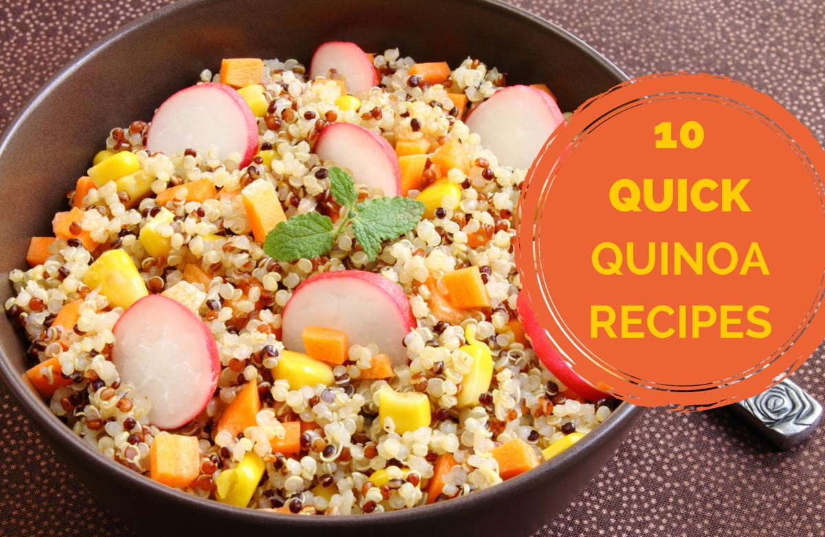Easy Healthy Quinoa Recipes  10 Quick Quinoa Recipes