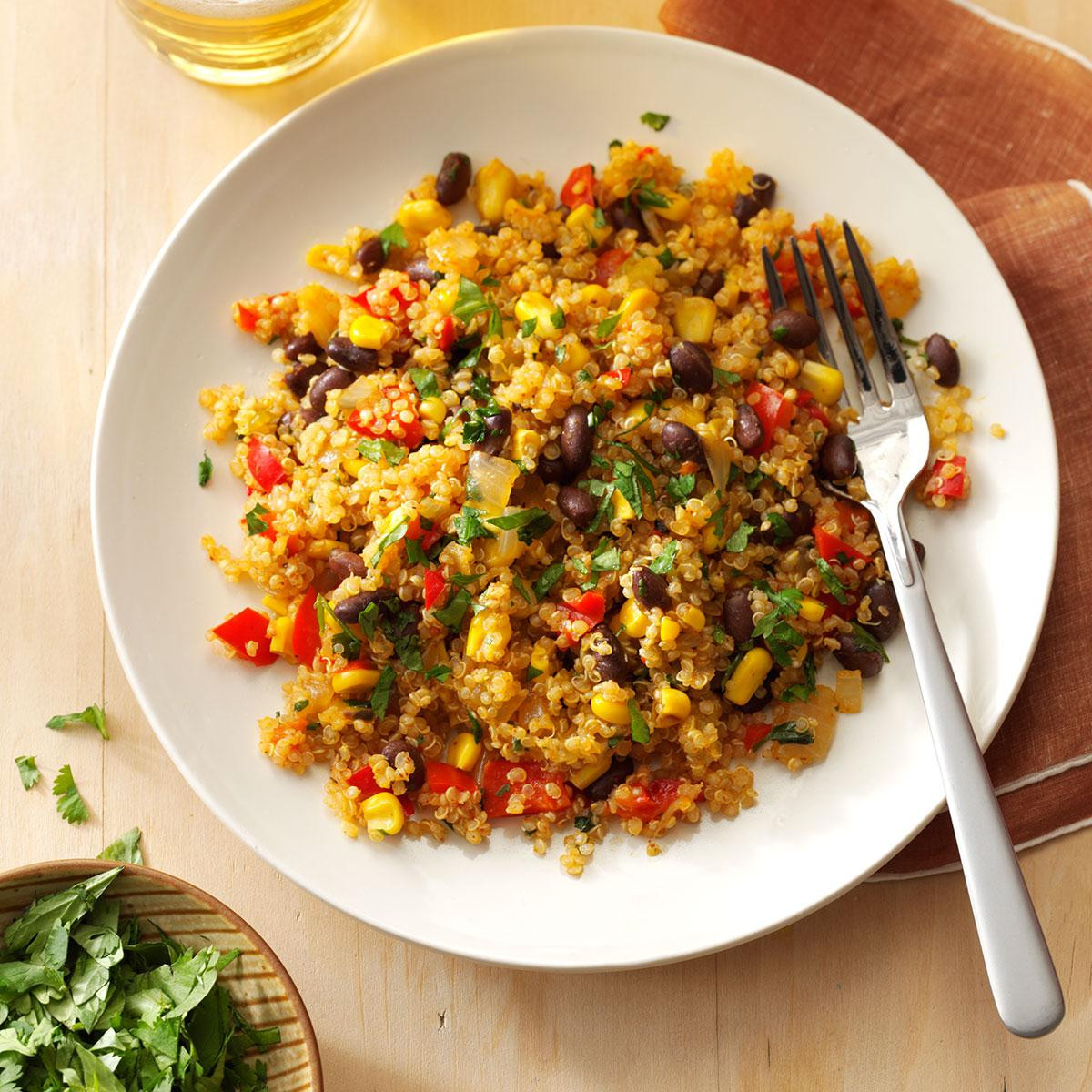 Easy Healthy Quinoa Recipes  Black Bean & Corn Quinoa Recipe