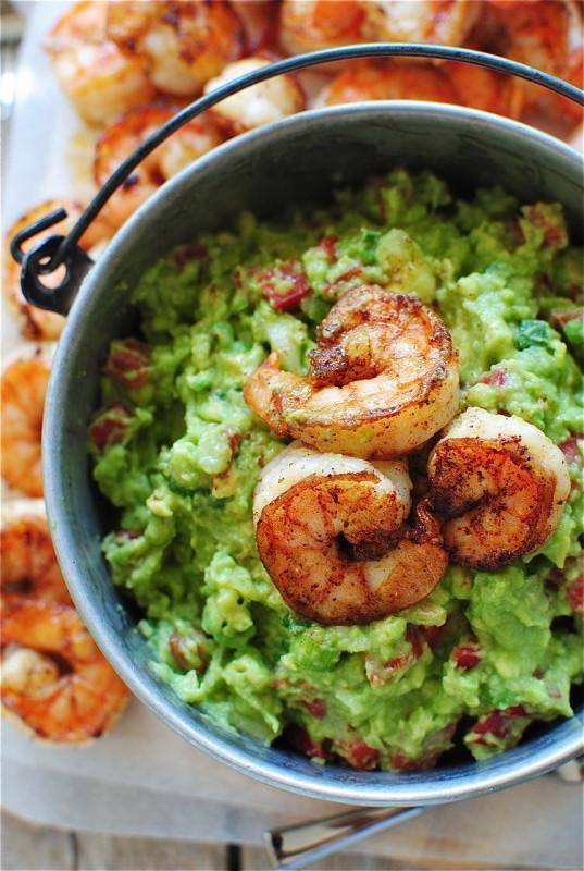 Easy Healthy Recipes For Weight Loss  Cajun Spicy Shrimp Guacamole – Simple Healthy Recipes for