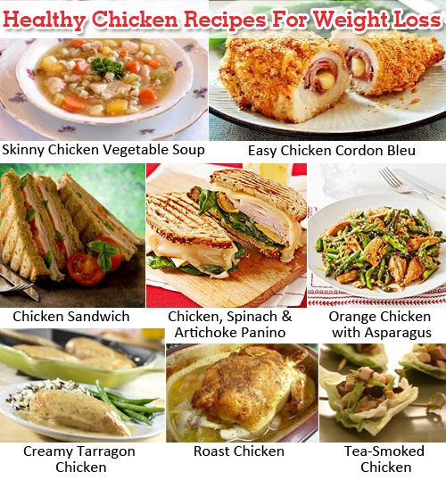 Easy Healthy Recipes For Weight Loss  Healthy Chicken Recipes For Weight Loss
