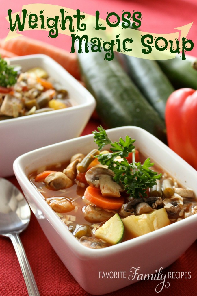 Easy Healthy Recipes For Weight Loss  Weight Loss Magic Soup Recipes for Diabetes Weight Loss