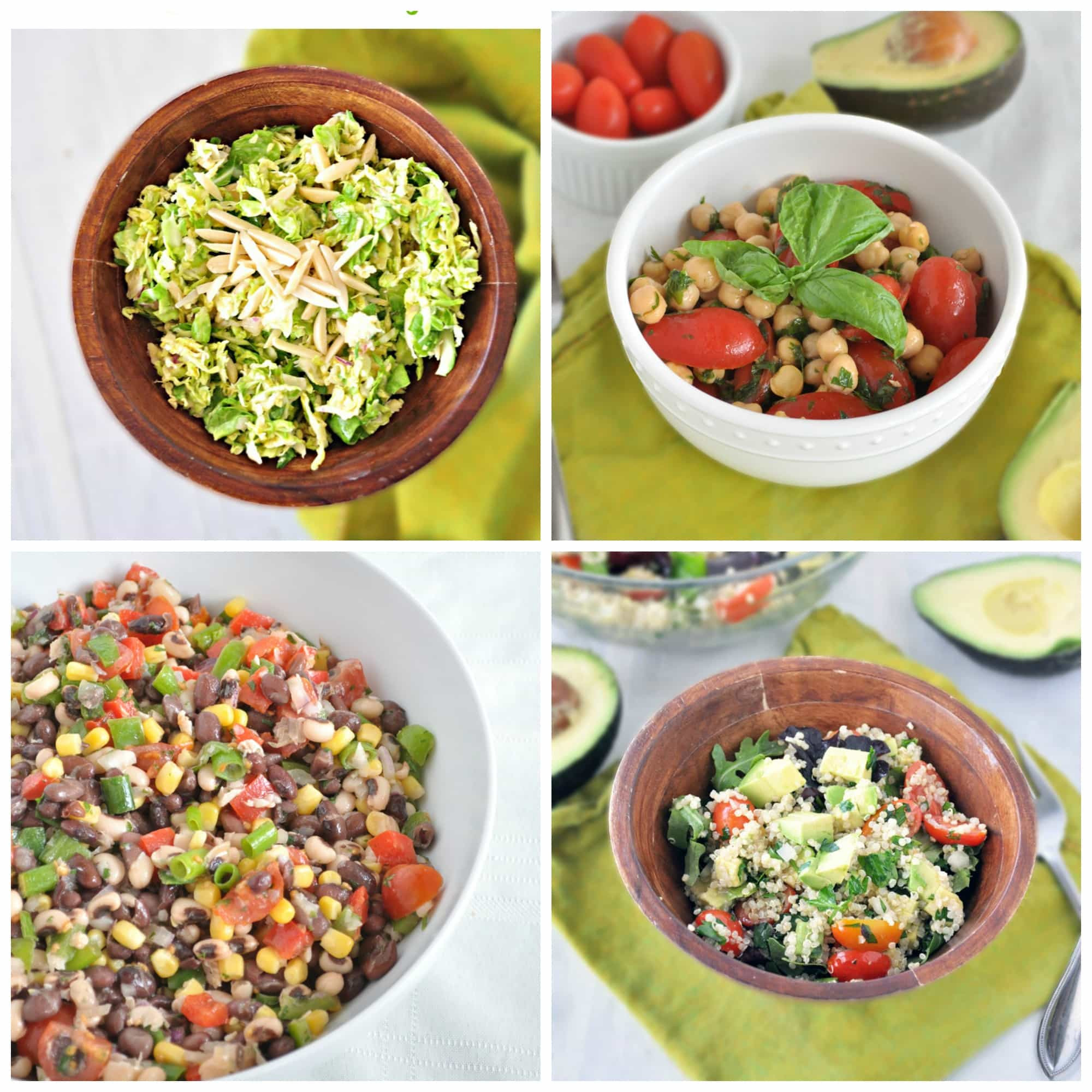 Easy Healthy Salads  18 Quick and Healthy Salad Ideas My Whole Food Life