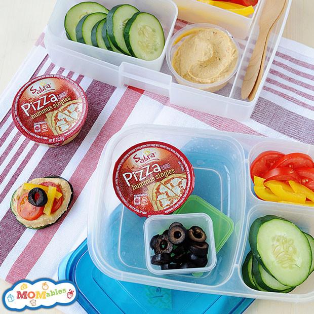 Easy Healthy School Lunches  Healthy Lunch Idea DIY Pizza Lunch