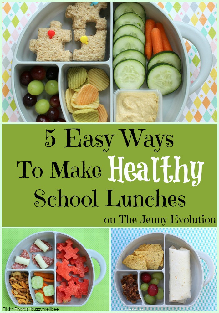 Easy Healthy School Lunches  5 Easy Ways to Make Healthy School Lunches for Your Children