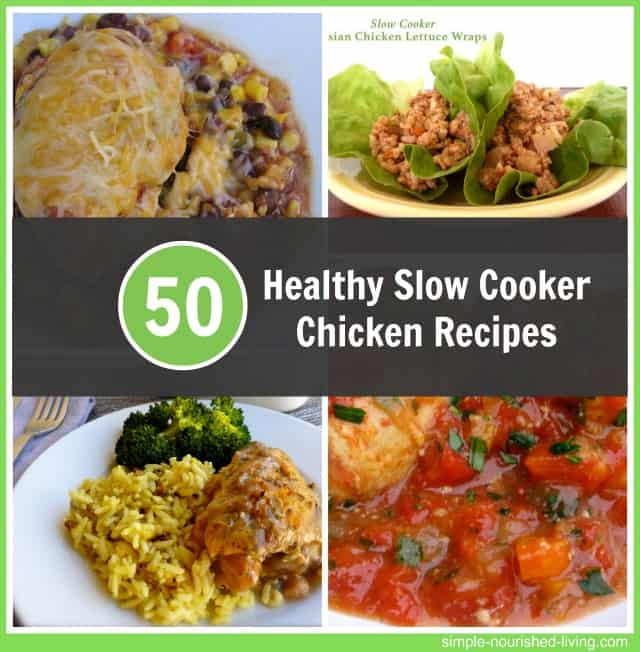Easy Healthy Slow Cooker Chicken Recipes  Healthy Slow Cooker Chicken Recipes for Weight Watchers