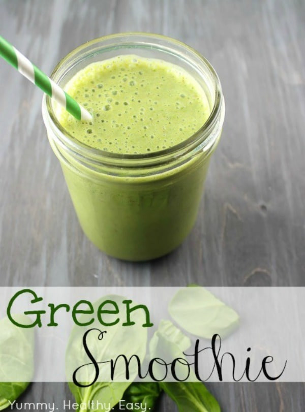 Easy Healthy Smoothie Recipes  20 Healthy Green Smoothie Recipes Yummy Healthy Easy