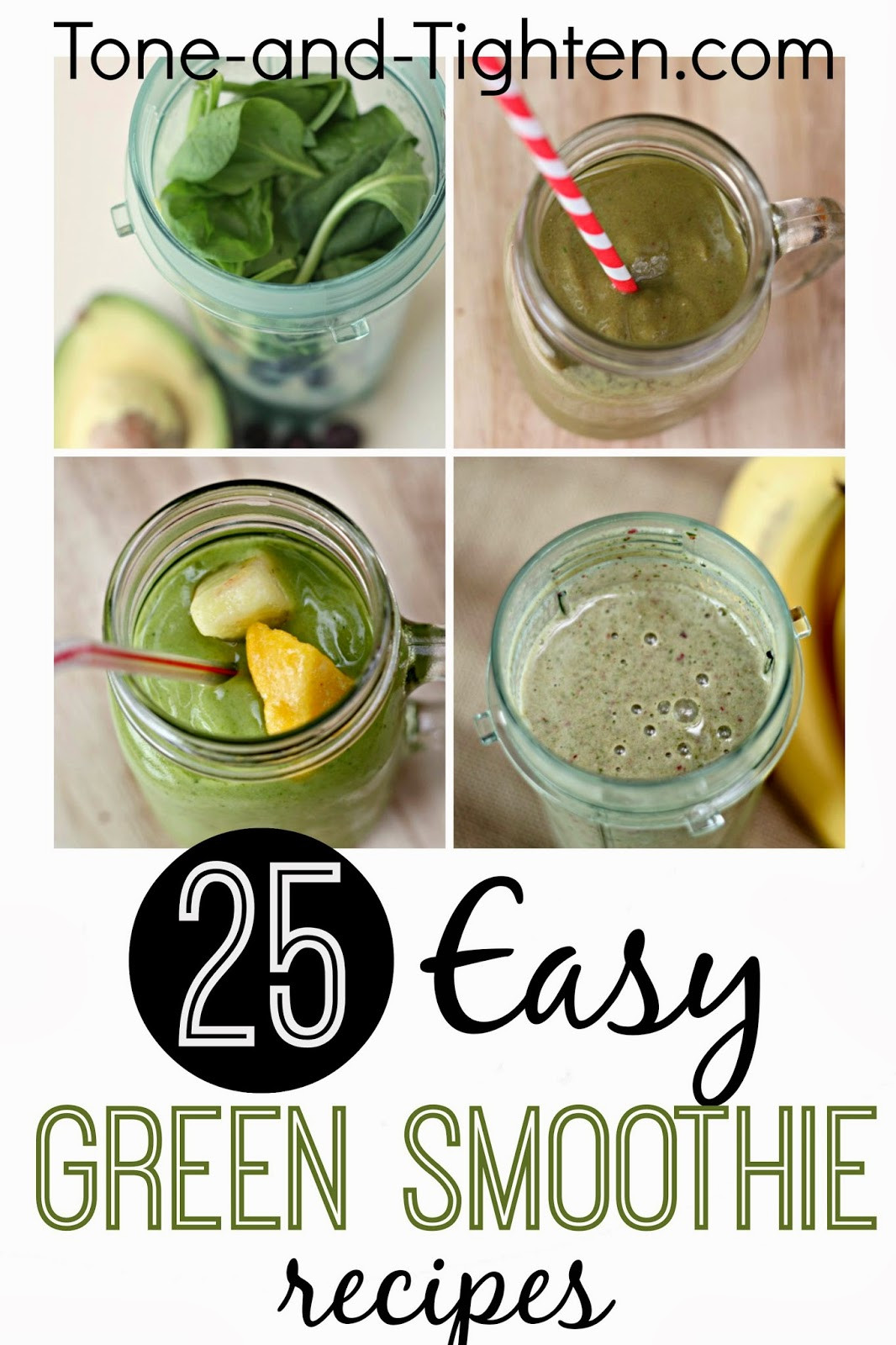 Easy Healthy Smoothie Recipes  10 QUICK Healthy Breakfast Recipes