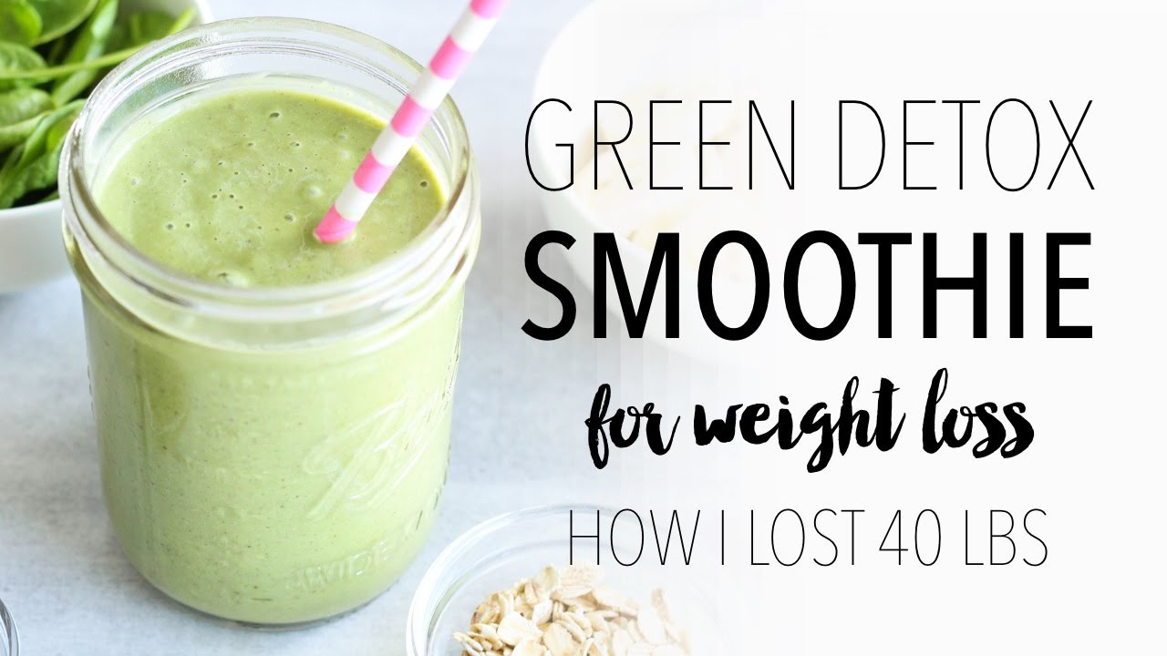 Easy Healthy Smoothie Recipes For Weight Loss  GREEN SMOOTHIE RECIPE FOR WEIGHT LOSS