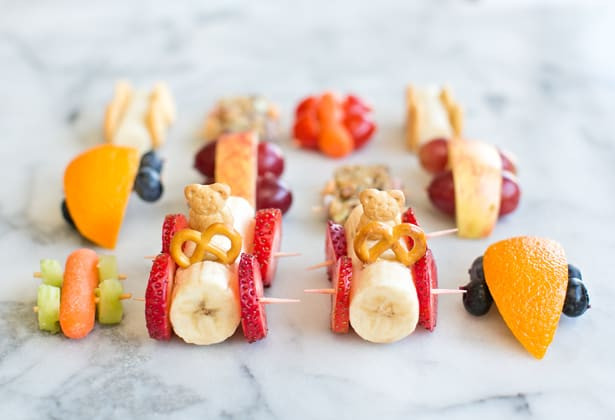 Easy Healthy Snacks For Kids  10 EASY ADORABLE AND HEALTHY FOOD ART SNACKS FOR KIDS